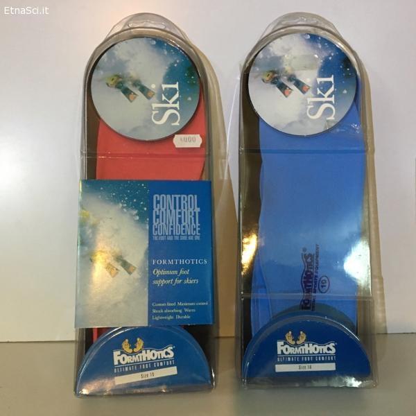 Solette termoformabili Formthotics per scarponi sci