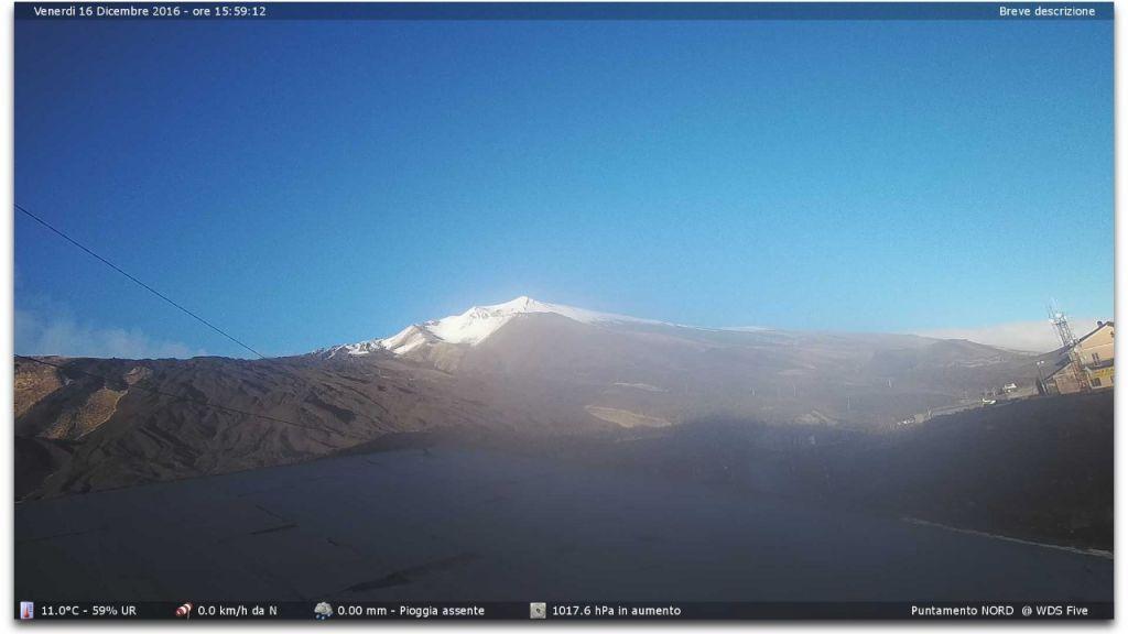 Nuova Webcam A Etna Sud