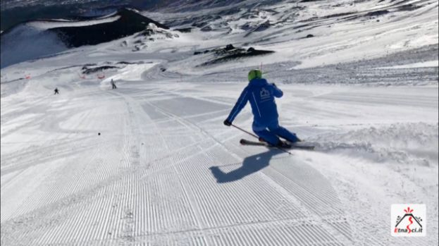 18.1.2019 Etna - Situazione neve, apertura piste, meteo e strade per il week end. Report e video