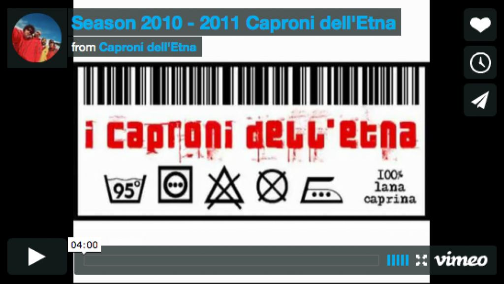 Caproni dell'Etna - Season 2010 - 2011