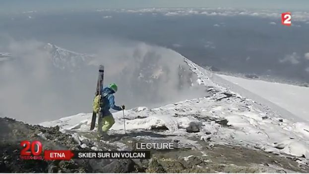 4 Apr 2015 Skier sur l'Etna, c'est possible (Servizio su France 2)