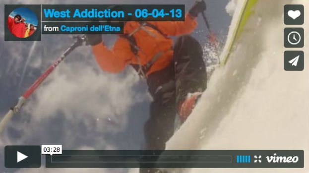 6 Apr 2012 Ancora Freeride a Etna Ovest