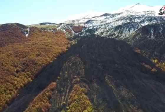 Etna - DroneFly su Piano dei Dammusi