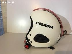 Casco Carrera Race Bianco/Rosso (Nuovo)